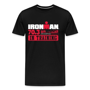 IRONMAN 70.3 Jonkoping In Training Men's Premium T-shirt - Men's Premium T-Shirt