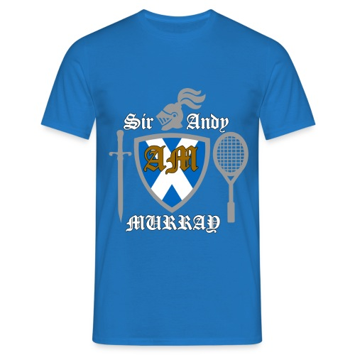Sir Andy. Mens T Shirt. Colour choice. - Men's T-Shirt