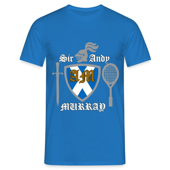 Sir Andy. Mens T Shirt. Colour choice.