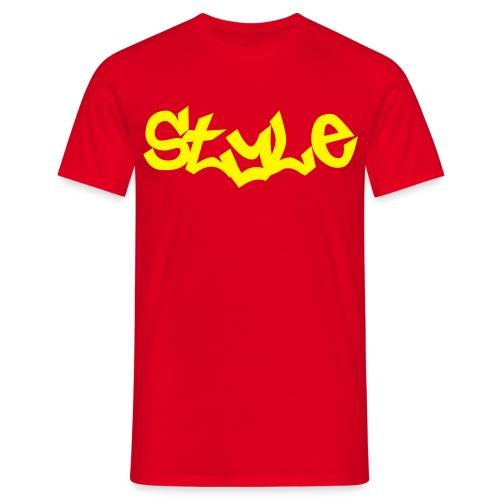 camiseta style - Camiseta hombre