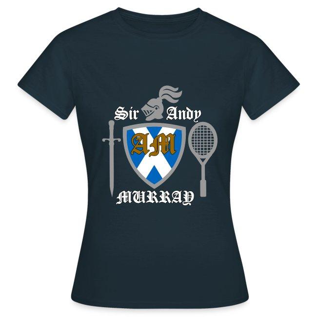 Sir Andy. Ladies T Shirt. Colour choice.