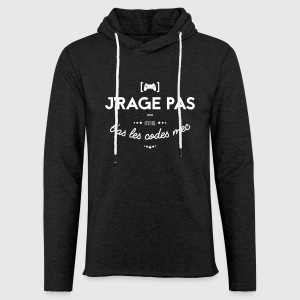Mauvais perdant Sweat-shirts - Sweat-shirt à capuche léger unisexe