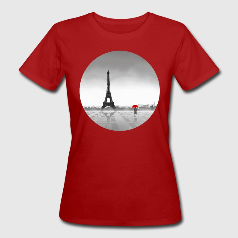 Paris T-Shirts - Frauen Bio-T-Shirt