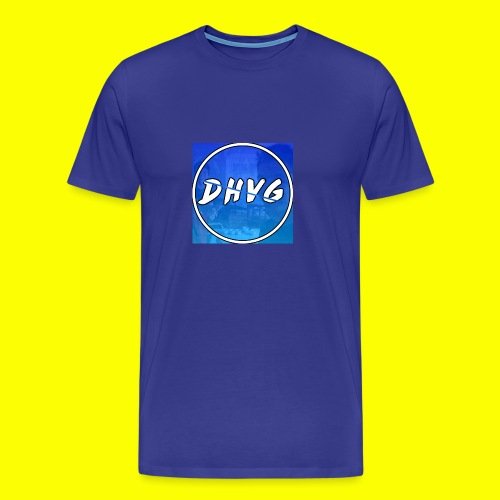 DHVG LOGO T-SHIRT - Mannen Premium T-shirt