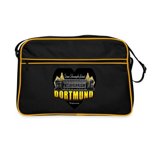 Unsere Schwarzgelbe Heimat - Retro Tasche