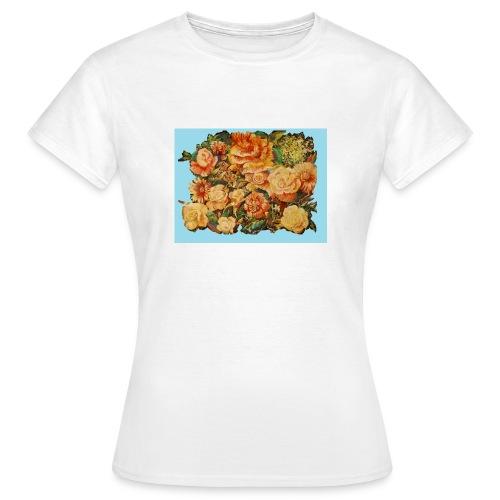 Roses for summerfashion - Dame-T-shirt