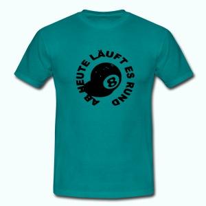 läuft rund - Männer T-Shirt