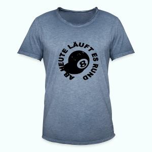 läuft rund - Männer Vintage T-Shirt