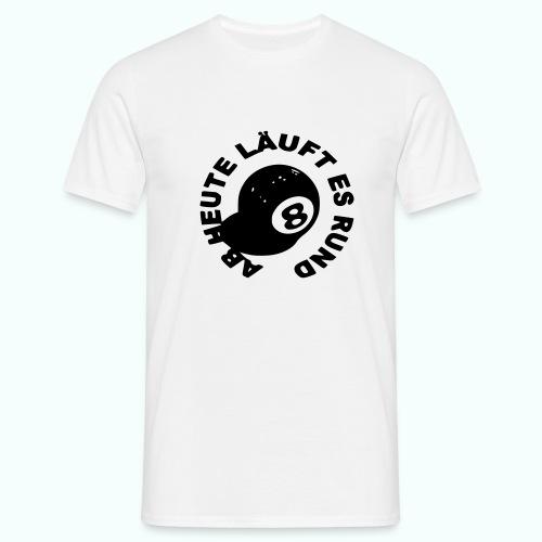 läuft rund - Men's T-Shirt