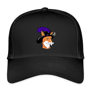 Fox Hat Peaked Cap - Trucker Cap