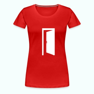 komm rein ... bin offen - Frauen Premium T-Shirt