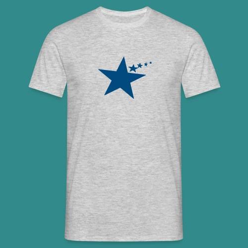 Stern am rechten Fleck - Männer T-Shirt