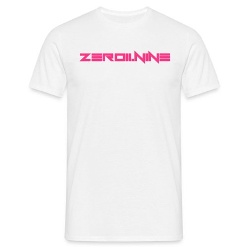ZEROIININE neon pink - Men's T-Shirt
