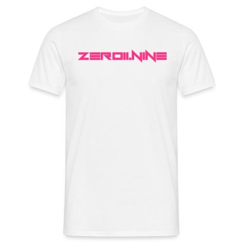ZEROIININE neon pink - Men's T-Shirt