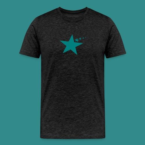 Shirt mit Stern - Männer Premium T-Shirt