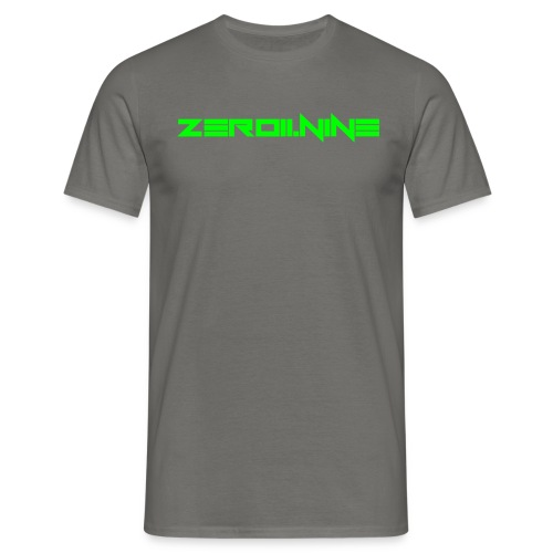ZEROIININE neon green - Men's T-Shirt