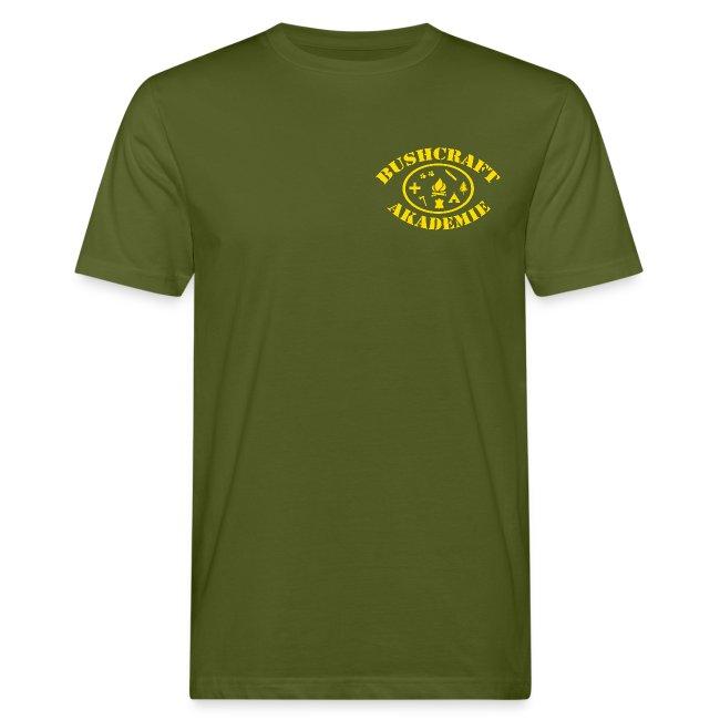 Bushcraft Akademie Fan-Shirt / Logo klein / Festival Daten