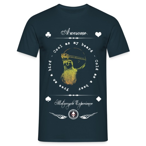 Awesome Motorcycle Experience - Camiseta hombre