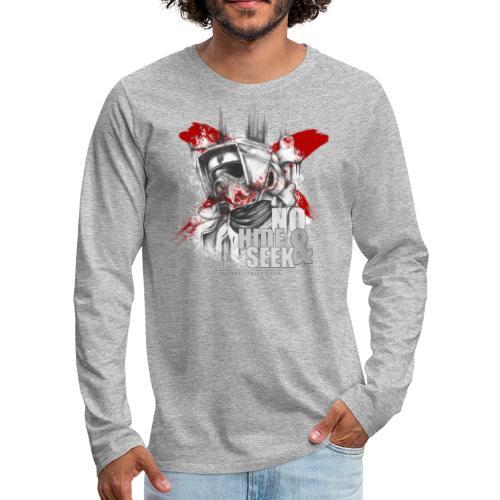 No Hide & Seek - Männer Premium Langarmshirt
