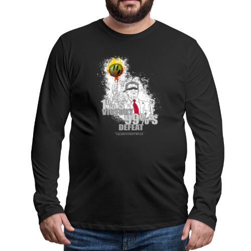Tronald Dump - Männer Premium Langarmshirt