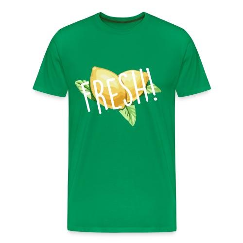 Lemon-Shirt - Männer Premium T-Shirt