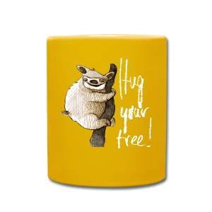 Hug your tree! - Full Colour Mug