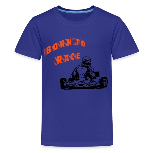 Born to Race - Teenager Premium T-Shirt