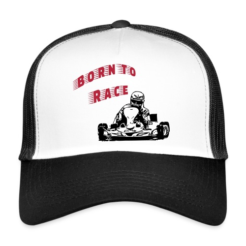 Born to Race - Trucker Cap