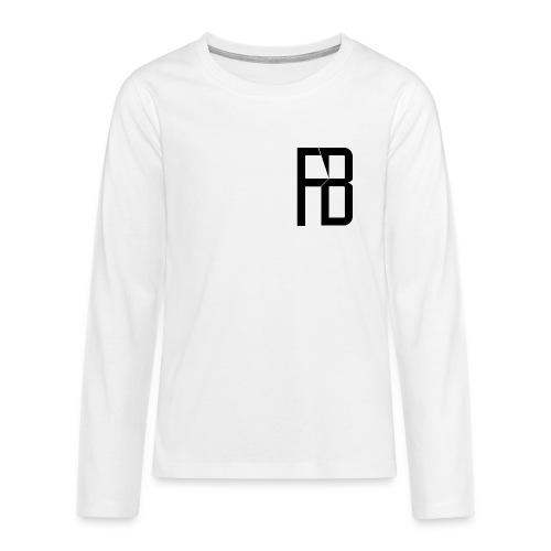 Kinder Langarmhirt - Teenager Premium Langarmshirt