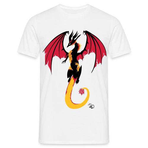 Kristalldrache - Männer T-Shirt