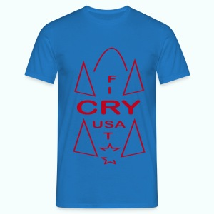 cry usa - Men's T-Shirt