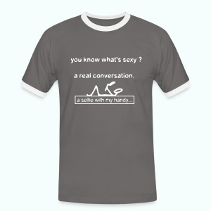 whats sexy - Men's Ringer Shirt