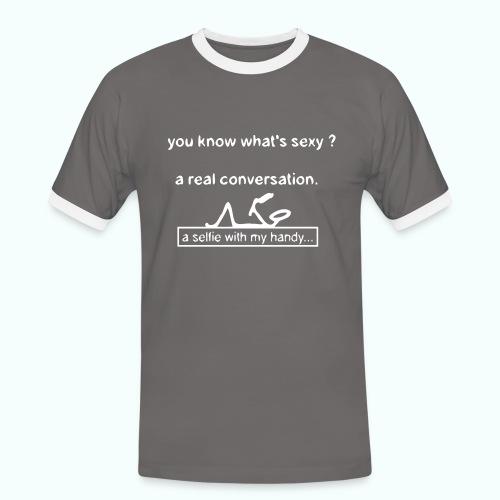 whats sexy - Men's Ringer Shirt