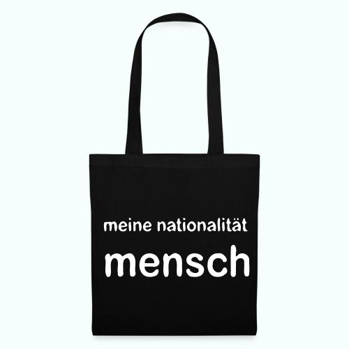 nationalität mensch - Tote Bag