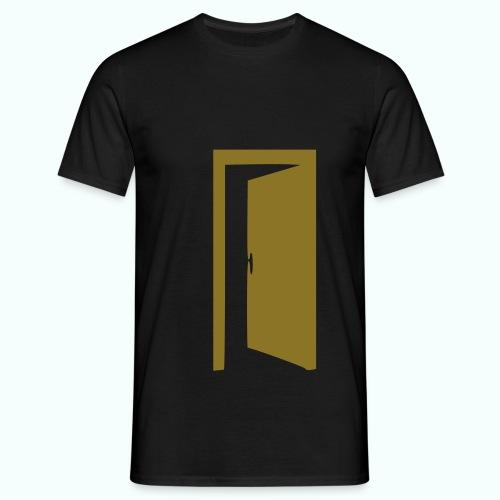 komm rein ... bin offen - Men's T-Shirt