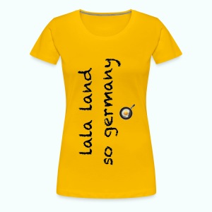 lala land so germany - Frauen Premium T-Shirt