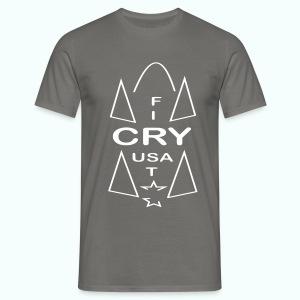 cry usa - Männer T-Shirt