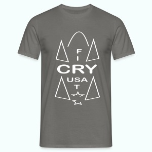 cry usa - Männer T-Shirt