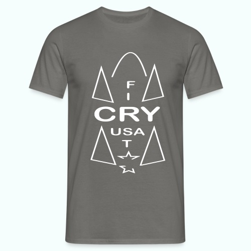 cry usa - Men's T-Shirt