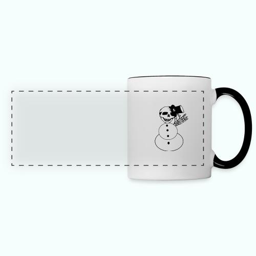 totenkopf schneemann - Panoramic Mug