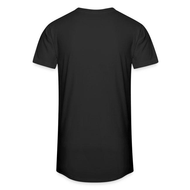 Lang T-shirt, kies je tekst, kies je kleur