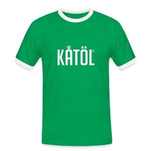 Kåtöl - T-Shirt - Kontrast-T-shirt herr