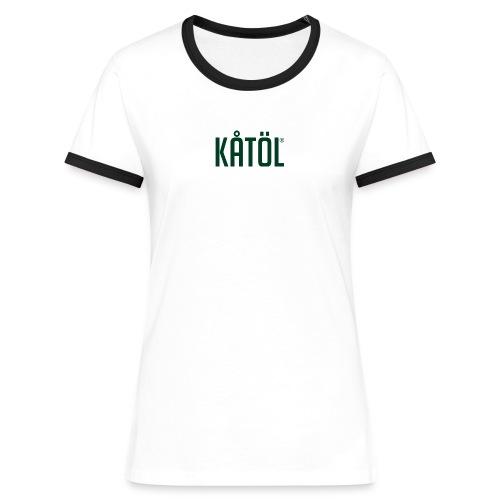 Kåtöl - T-Shirt Dam - Kontrast-T-shirt dam