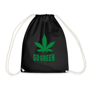 Turnbeutel - Weed Go Green