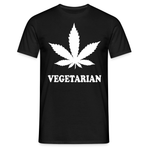 Männer T-Shirt - Weed Vegetarian