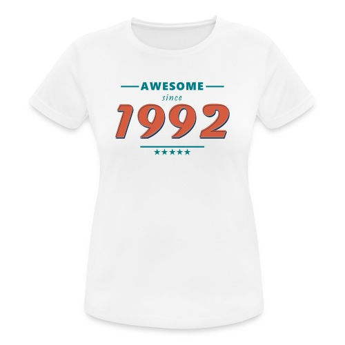 Awesome since 1992 - Frauen T-Shirt atmungsaktiv