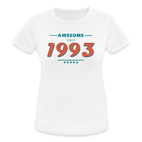 Awesome since 1993 - Frauen T-Shirt atmungsaktiv
