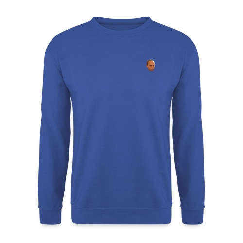 Men's Sweatshirt : royal blue - Men's Sweatshirt