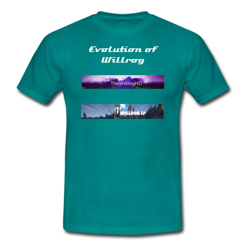 Evolution of Willrog Shirt - Männer T-Shirt