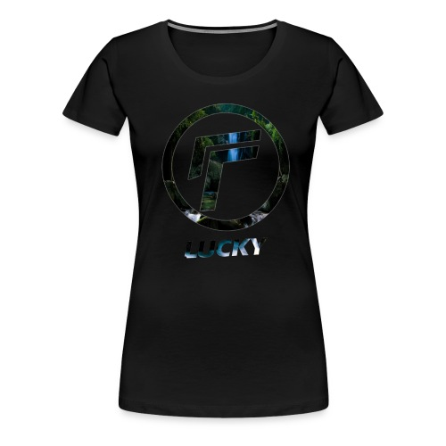 Women's - Waterfall Logo - T-Shirt - Women's Premium T-Shirt